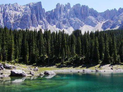 Dolomiten | Karer See and Latemar