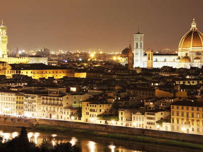 Firenze | Historic centre at night