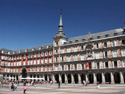 Madrid | Plaza Mayor with Casa de la Panadería