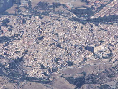 Toledo from the air