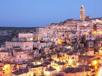 Matera | Sassi after sunset