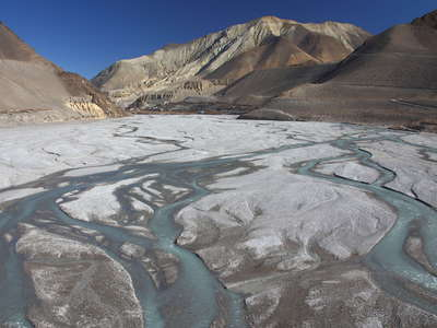 Kali Gandaki Valley  |  Braided river