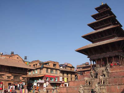 Bhaktapur  |  Taumadhi Square with Nyatapola Temple