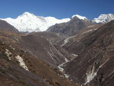 Gokyo Valley with Cho Oyu