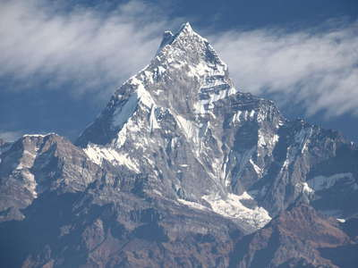 Annapurna Himal  |  Machapuchare south face