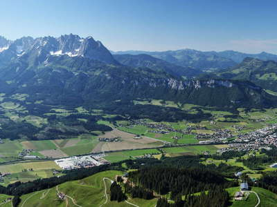 St. Johann in Tirol and Wilder Kaiser