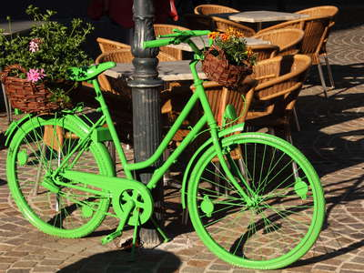Klagenfurt | Green bicycle