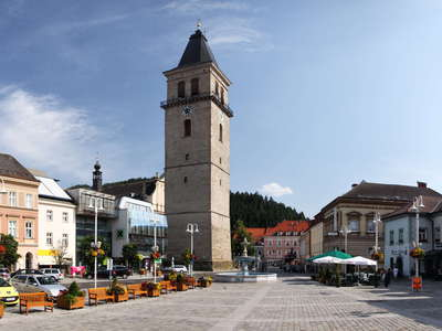 Judenburg | Hauptplatz with Stadtturm