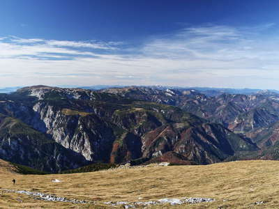 Rax and Lower Austrian Alps panorama