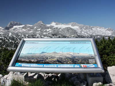 Dachstein panorama table