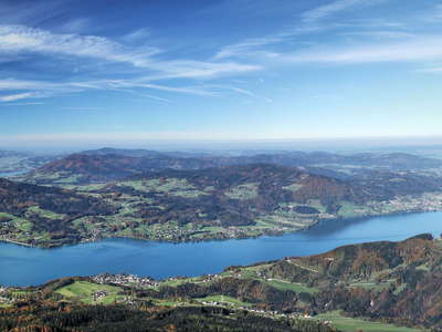 Lake Attersee panorama