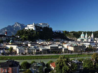 Salzburg | Historic centre and Hohensalzburg Castle