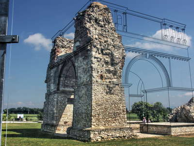 Carnuntum | Reconstructing the Heidentor