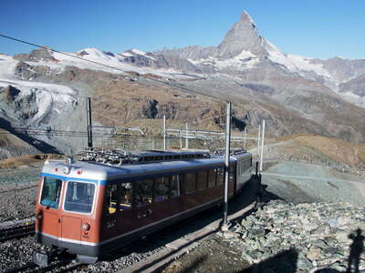 Zermatt  |  Gornergratbahn and Matterhorn