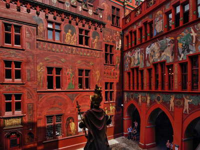 Basel Town Hall  |  Courtyard