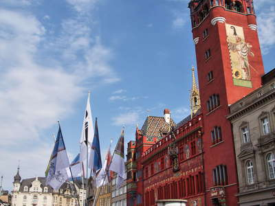 Basel  |  Marktplatz and town hall