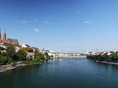 Basel  |  Minster and Rhine