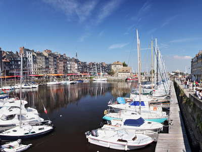 Honfleur | Historic centre with harbour