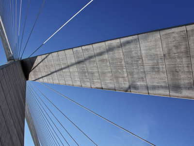 Pont de Normandie | Detail of the southern tower