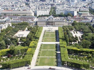 Paris | Champ de Mars and Tour Montparnasse