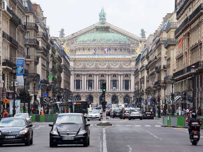 Paris | Avenue de l'Opéra with Opéra Garnier