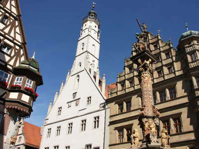 Rothenburg ob der Tauber  |  Town hall