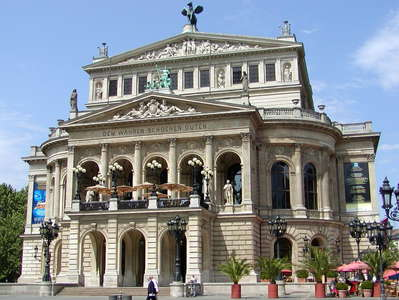 Frankfurt am Main  |  Opera house