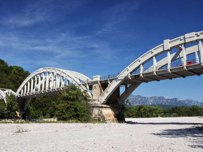 Fiume Meduna | Road bridge