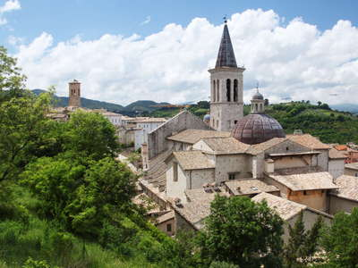 Spoleto | Historic centre with cathedral