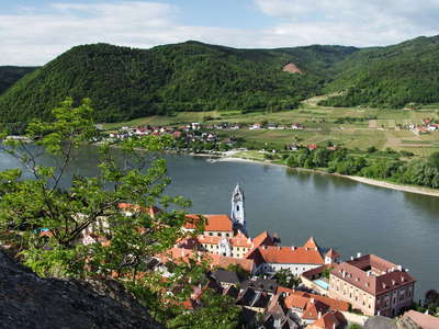 Dürnstein and Danube