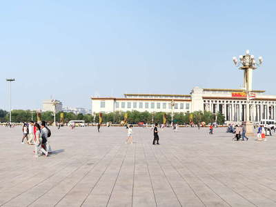 Beijing  |  Panorama of Tian'anmen Square