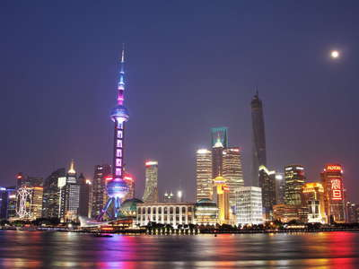 Shanghai  |  Skyline of Pudong