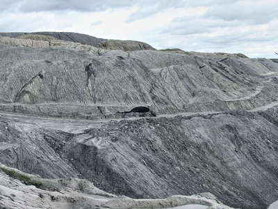 Baganuur  |  Brown coal mine with landslide