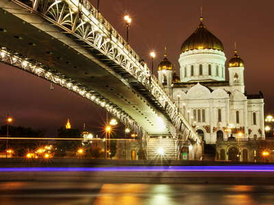 Moscow  |  Cathedral of Christ the Saviour