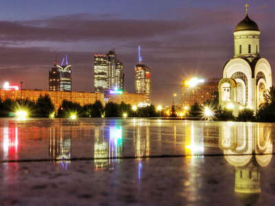 Moscow  |  Park Pobedy and Moscow City