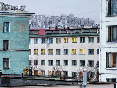 Murmansk  |  Residential buildings