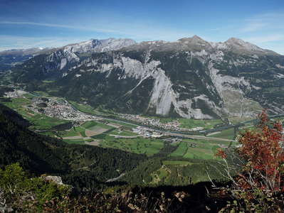 Rheintal Valley panorama