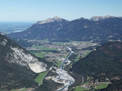 Lechtal Valley and Reutte