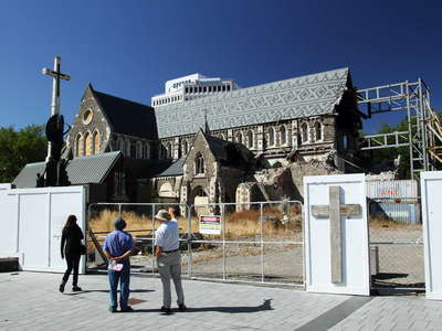Christchurch  |  Ruins of the Cathedral