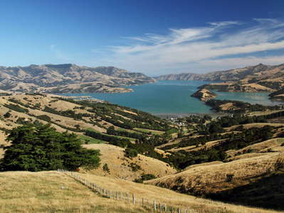 Banks Peninsula  |  Akaroa Harbour