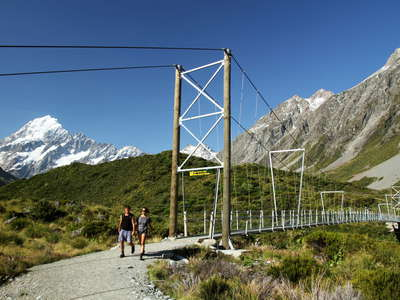 Hooker Valley  |  Suspension bridge