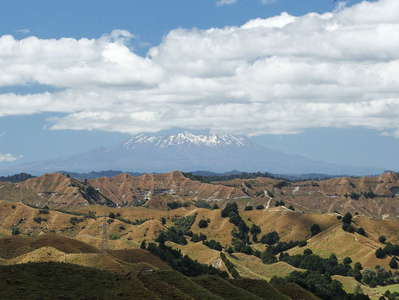 Forgotten World Highway  |  View to Mt. Ruapehu