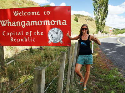 Welcome to Whangamomona