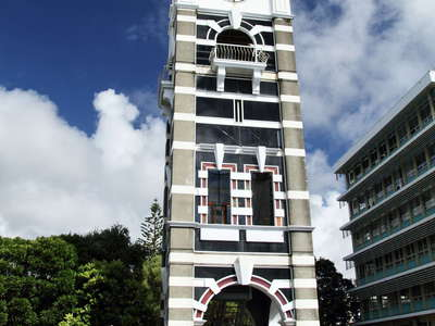 New Plymouth  |  Clock tower