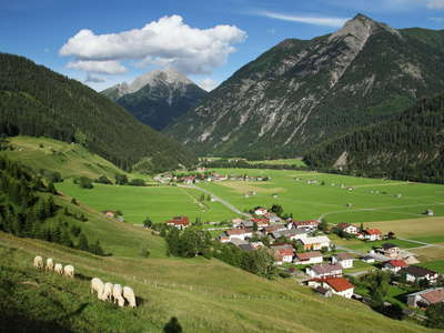 Lechtal Valley near Holzgau