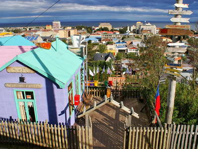 Punta Arenas  |  Colourful building