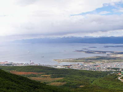 Ushuaia and Canal Beagle