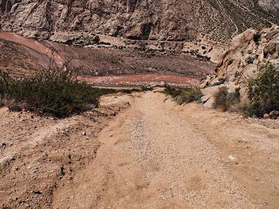 Valle Mendoza  |  Debris flow path near Guido