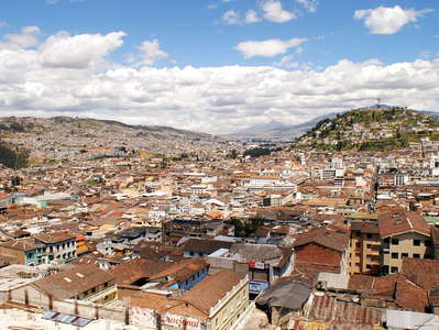 Quito  |  Historic centre and Panecillo