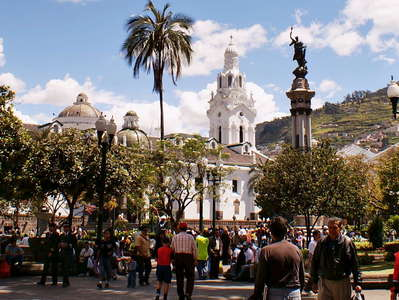 Quito  |  Plaza de Independencia